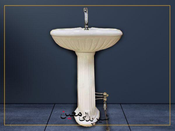 شیر آب پدالی مدل روشویی (پدال 30 سانتی)